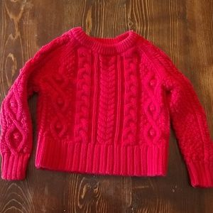GAP Red Sweater